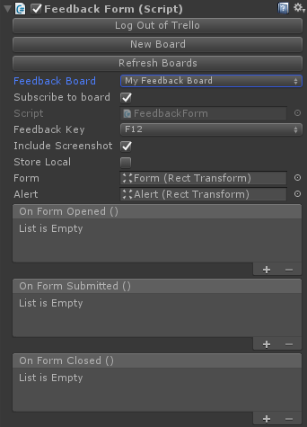 Unity Asset] Easy Feedback Form: In-game bug reporting for Unity