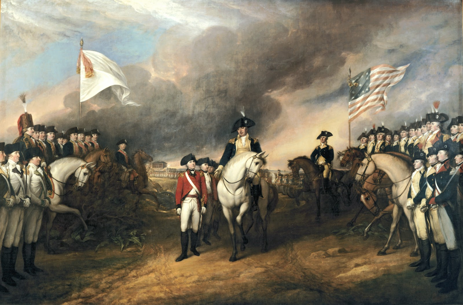 Surrender of Cornwallis at