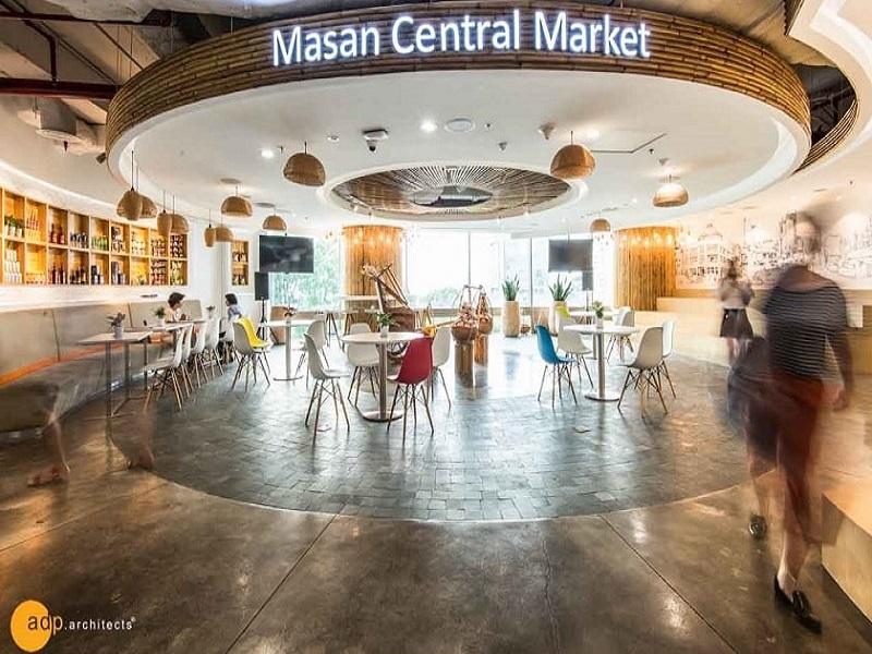 dự án thiết kế nội thất văn phòng Masan