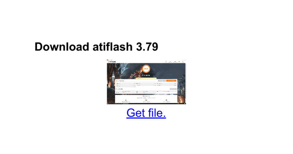 Download atiflash 379 - inefsesri