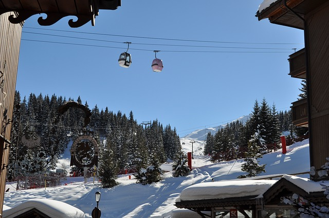 Vacation rental property situated in a ski resort