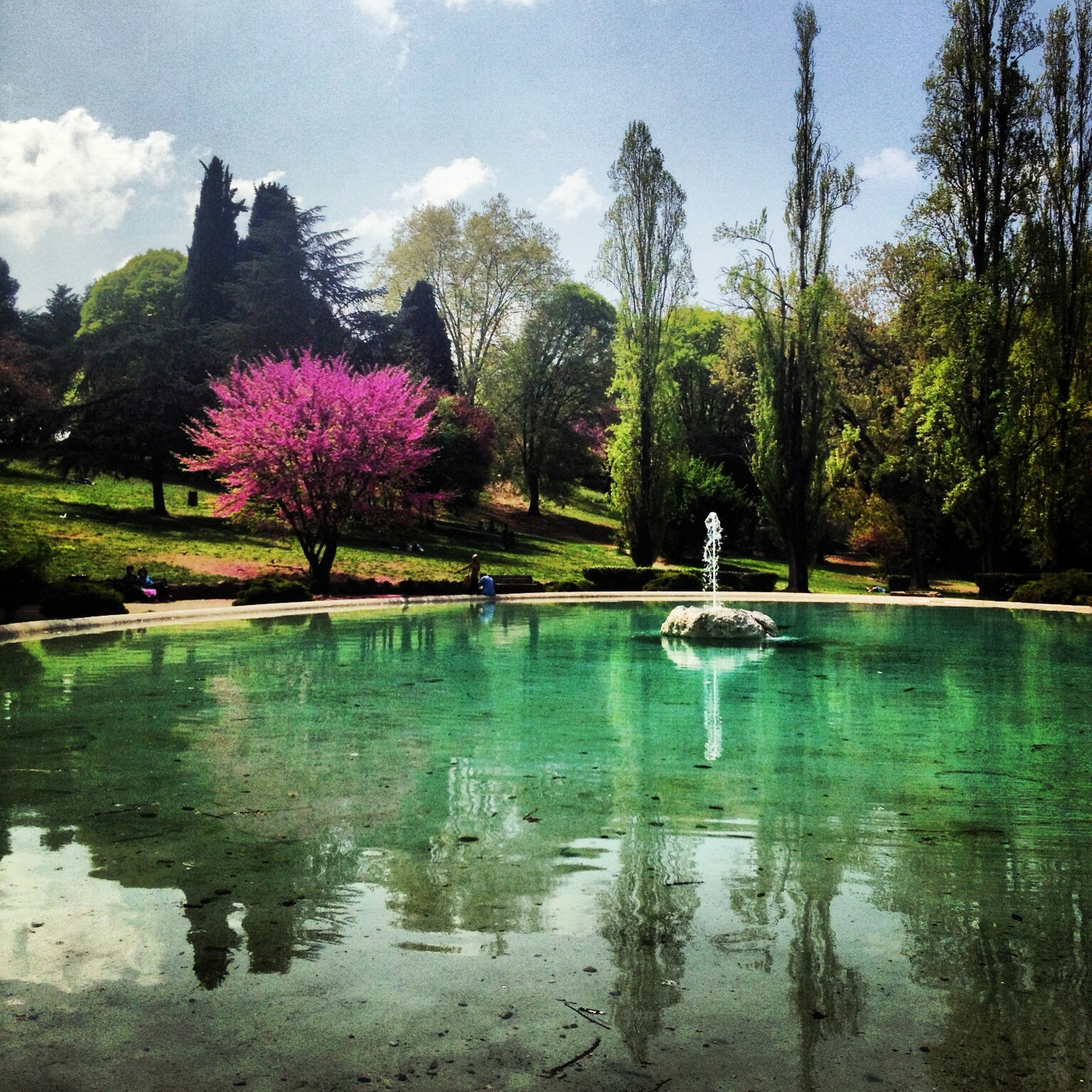 Villa Borghese - Fountains of Rome