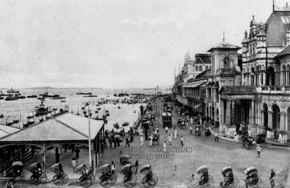 Collyer Quay, 1900. National Archive Singapore