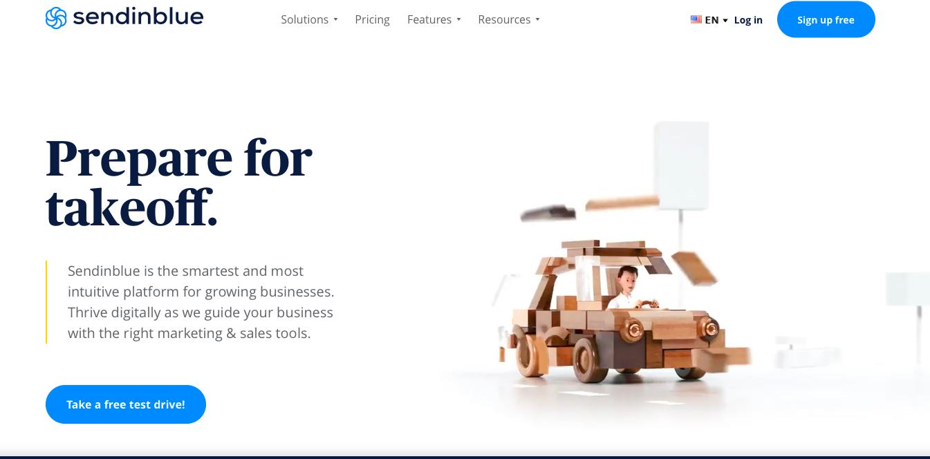 Sendinblue - best ecommerce email marketing tool