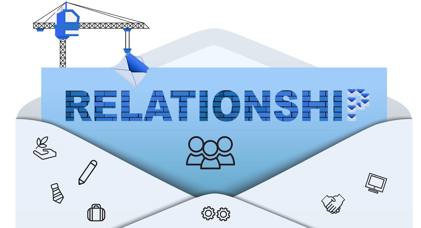 an illustration of an envelope bearing relationship