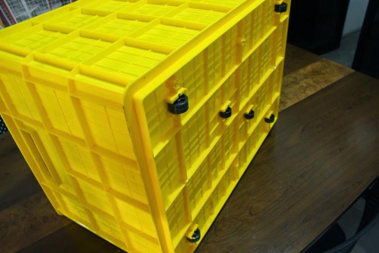 JUAL KERANJANG KONTAINER PLASTIK POLOS TIPE 2224 P | Green Leaf | www.rajarakminimarket.com | RAJA RAK INDONESIA