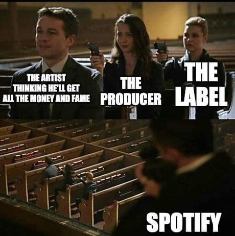 Music Industry as a meme - 9GAG