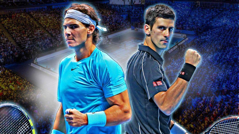 Rafael Nadal vs Novak Djokovic on Hard Courts