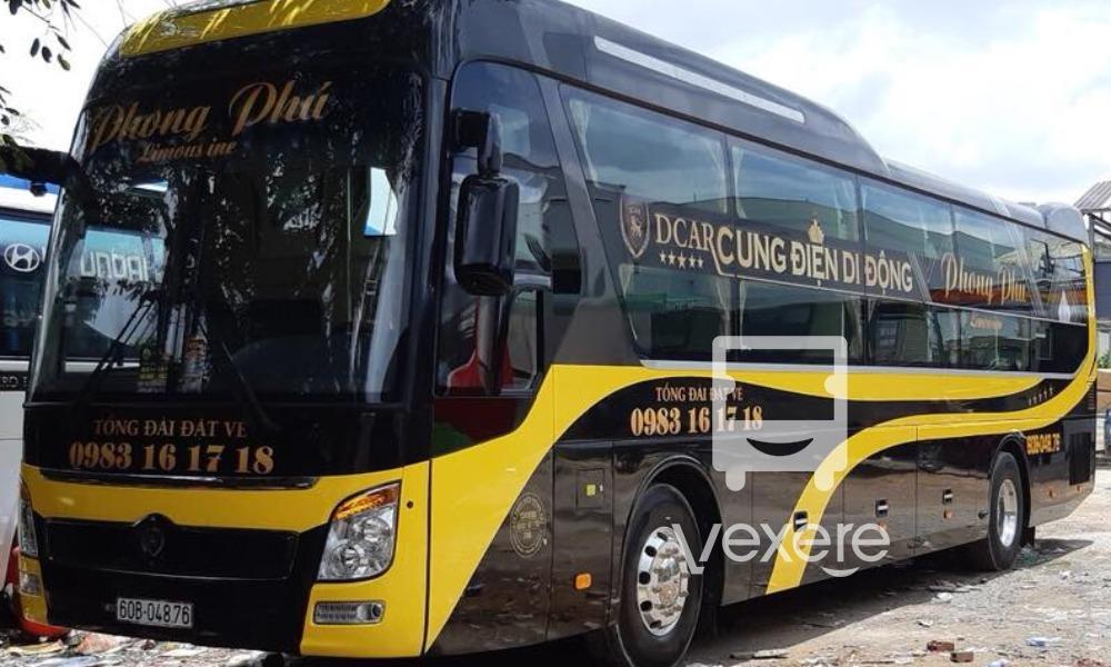 Xe Phong Phú từ Sài Gòn đi Kon Tum