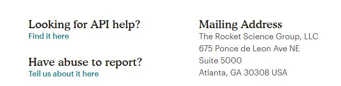 Mailchimp Customer Support