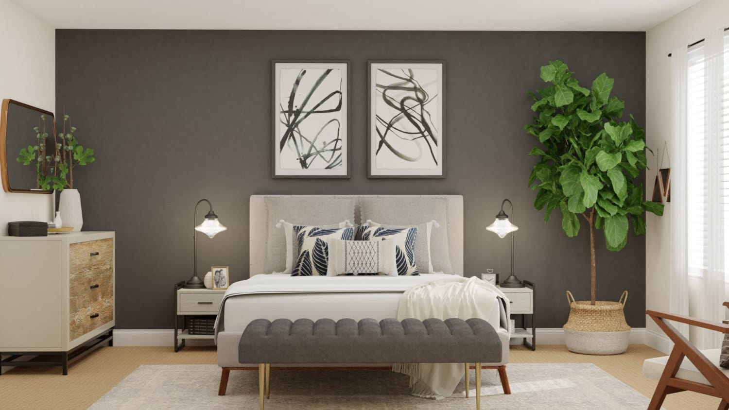 Neutral Color Can Create A Focal Point