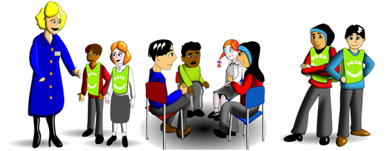 Peer Mediation is conflict resolution by young people for young people, reducing harmful conflict and bullying at school.