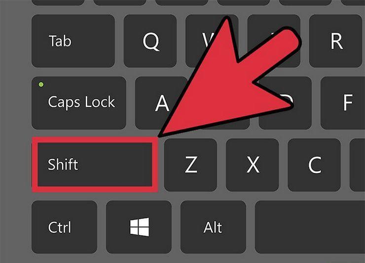 Где находится верхний регистр на клавиатуре: способы переключения