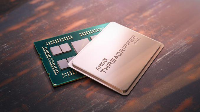 AMD Threadripper Pro shell and insides