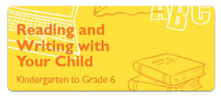 reading and writing with your child