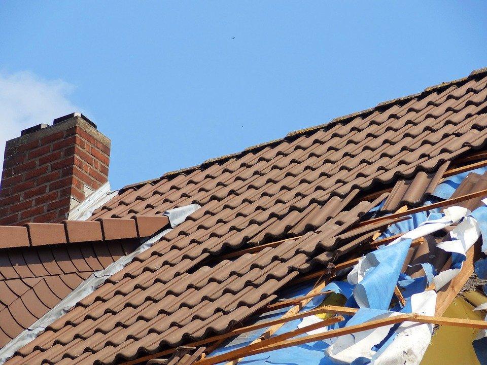 Forward, Storm Damage, Roof, Roofing Tiles, Tile