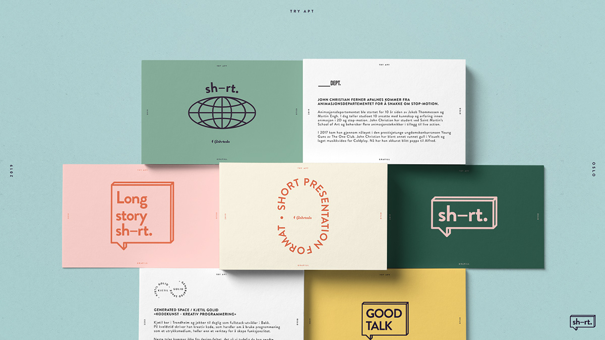 branding  color typography   Event identity motion logo poster bold