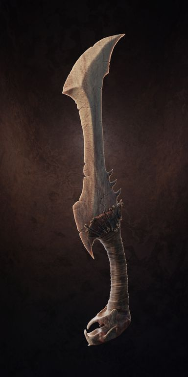 [ART] Bone Dagger Design : DnD