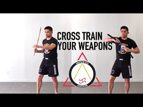 Cross Training Filipino Martial Arts Weapons | Anastacio Kali ...