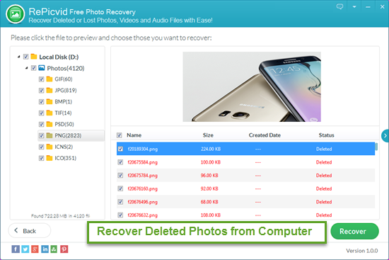 How to Recover Deleted Photos from Computer for Free