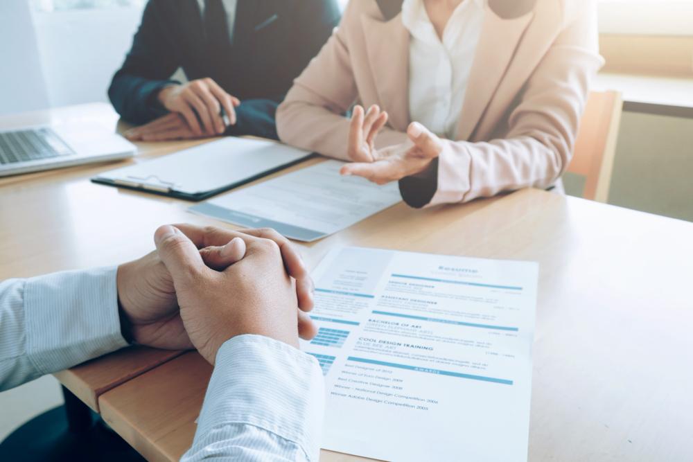 business job interview process