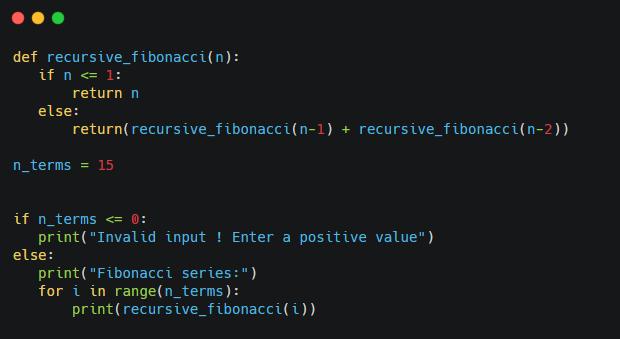 why python recursion