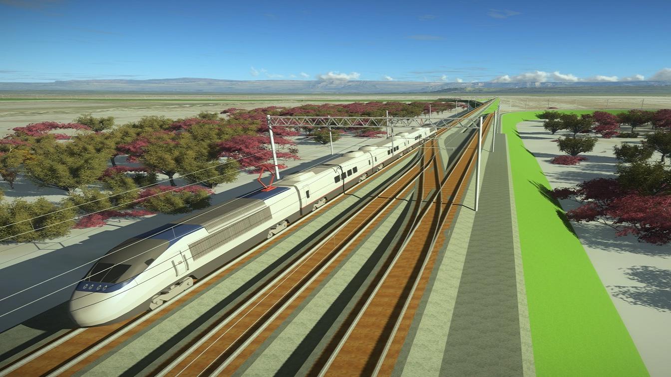 проект железной дороги