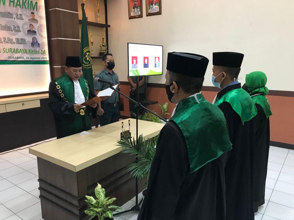 Pelantikan Hakim Pengadilan Agama Surabaya