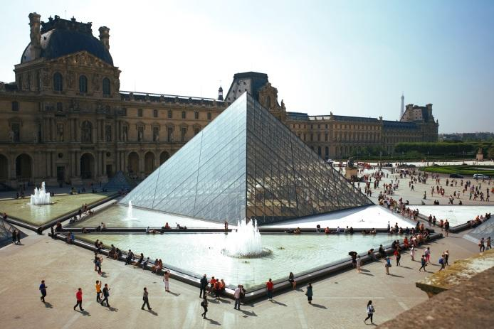 Louvre Museum, Travel itinerary