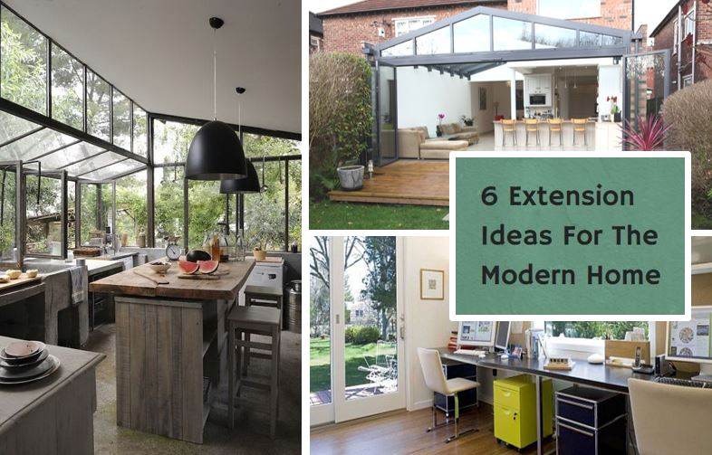 6 extension ideas for the modern home for Building a kitchen extension ideas