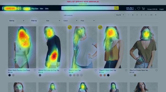 heatmap online store
