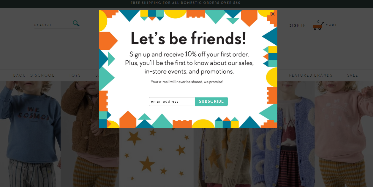 25 Creative Popup Ideas for Your Shopify Store | MageWorx Shopify Blog