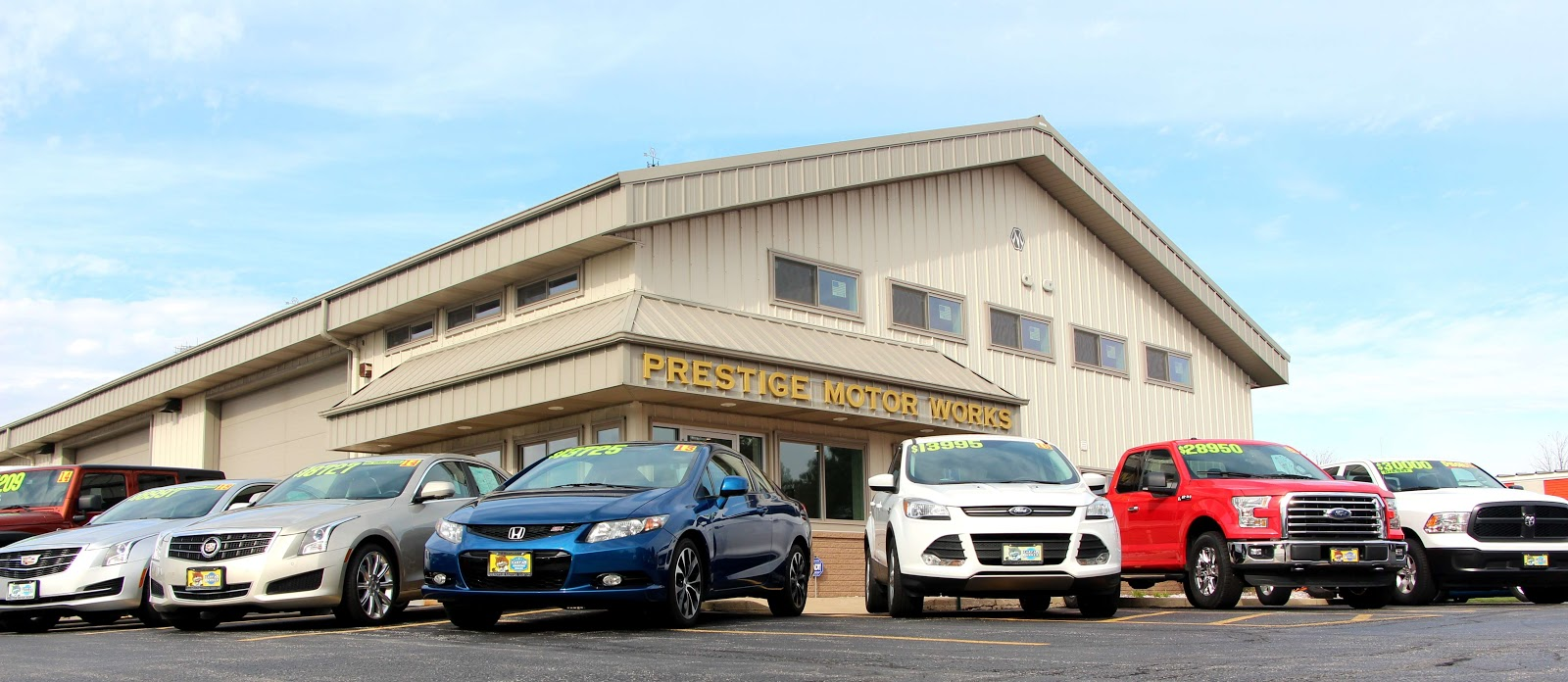 Photo of Prestige Motor Works showroom