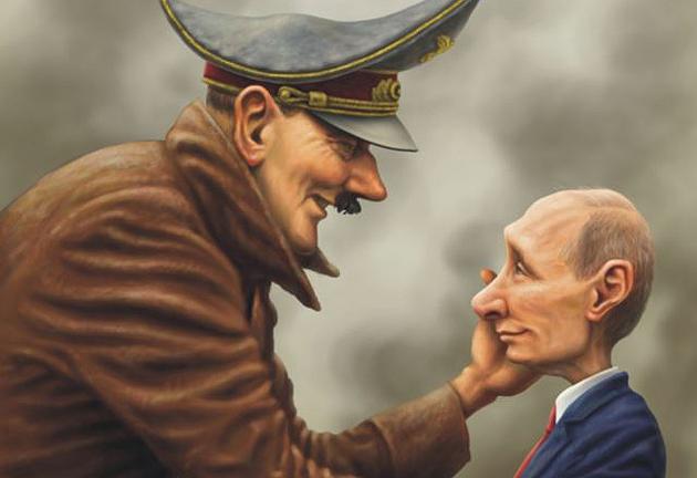 Карикатура  Андрей Левченко