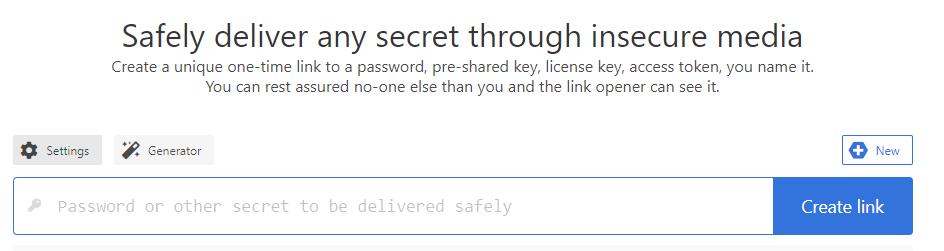 hoe veilig een wachtwoord versturen