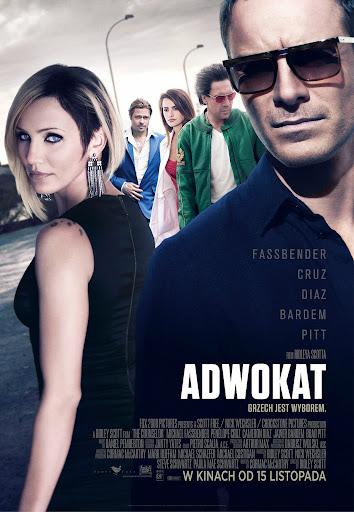 Polski plakat filmu 'Adwokat'