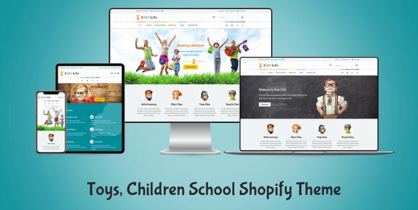 Kids Life - Toys store shopify theme