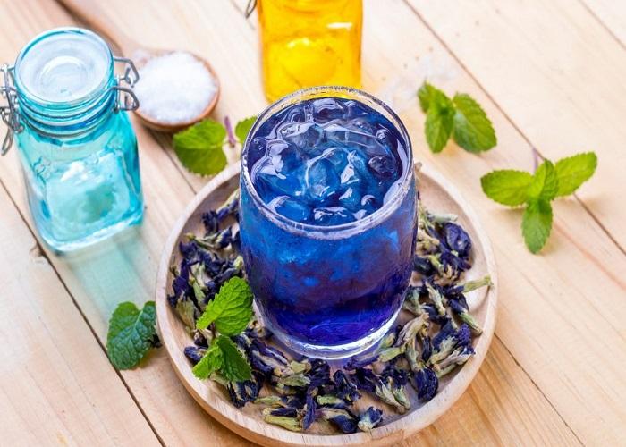 Công thức trà hoa đậu biếc giảm cân bạn nên biết