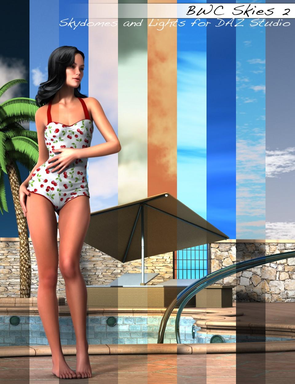 BWC Skies 2 in Vendor, Sedor,  3D Models by Daz 3D