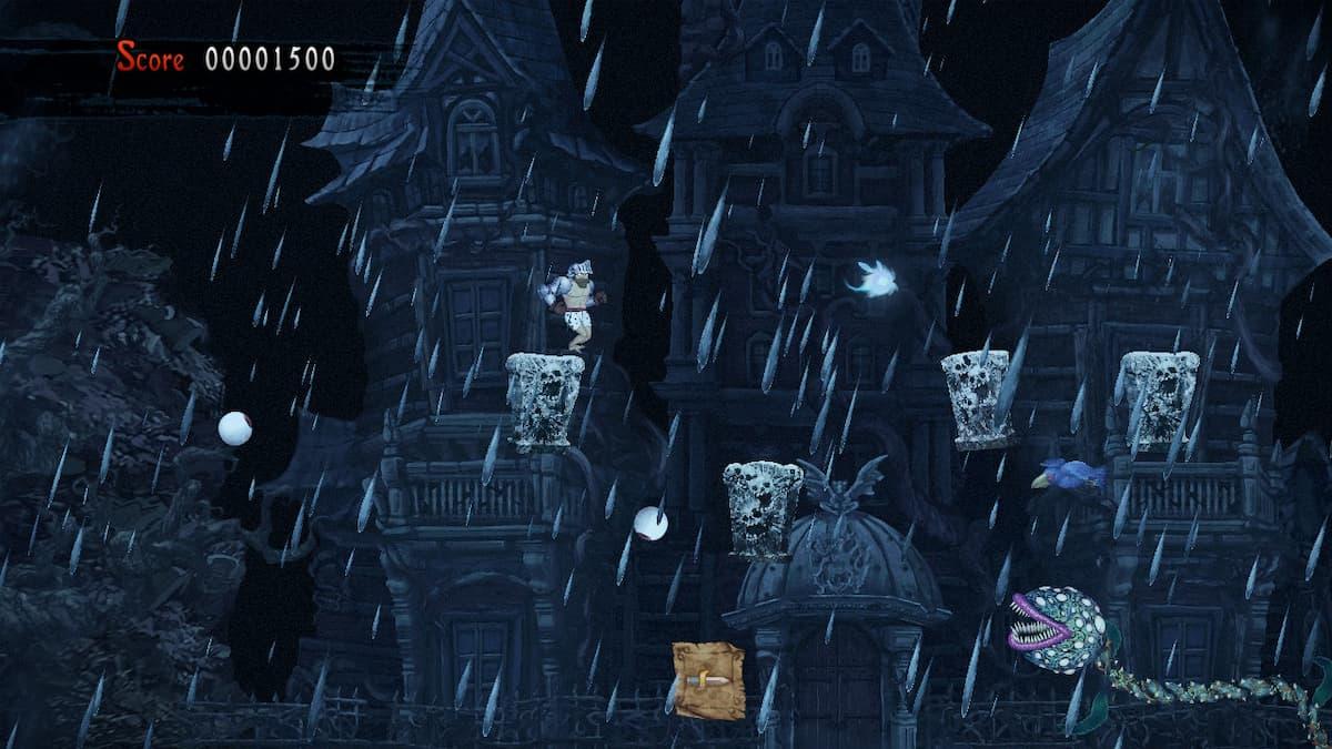 Ghosts 'n Goblins Resurrection Graveyard Bee 2