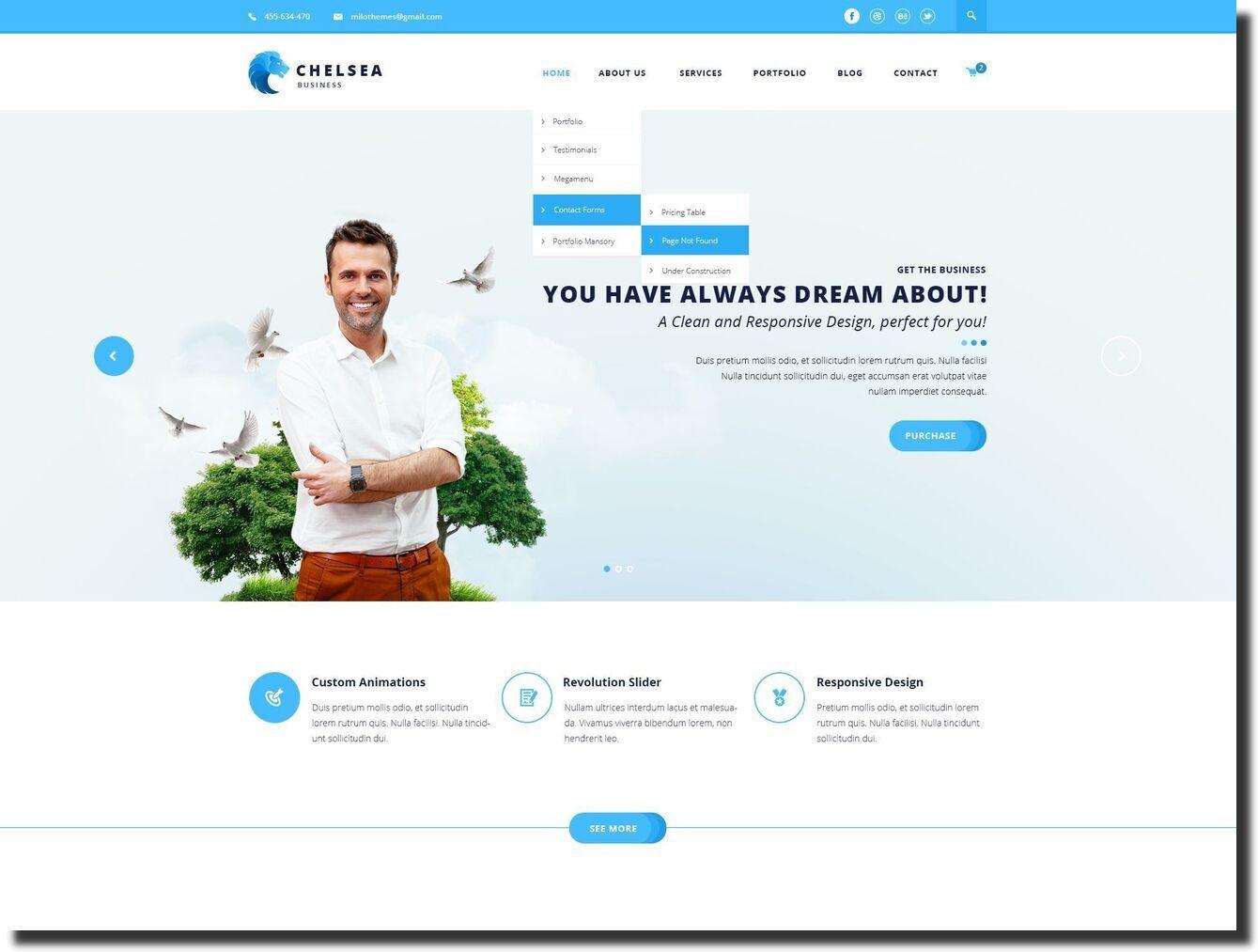 chelsea construction website
