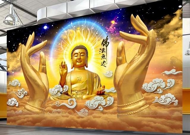 Tranh 3D hình Phật