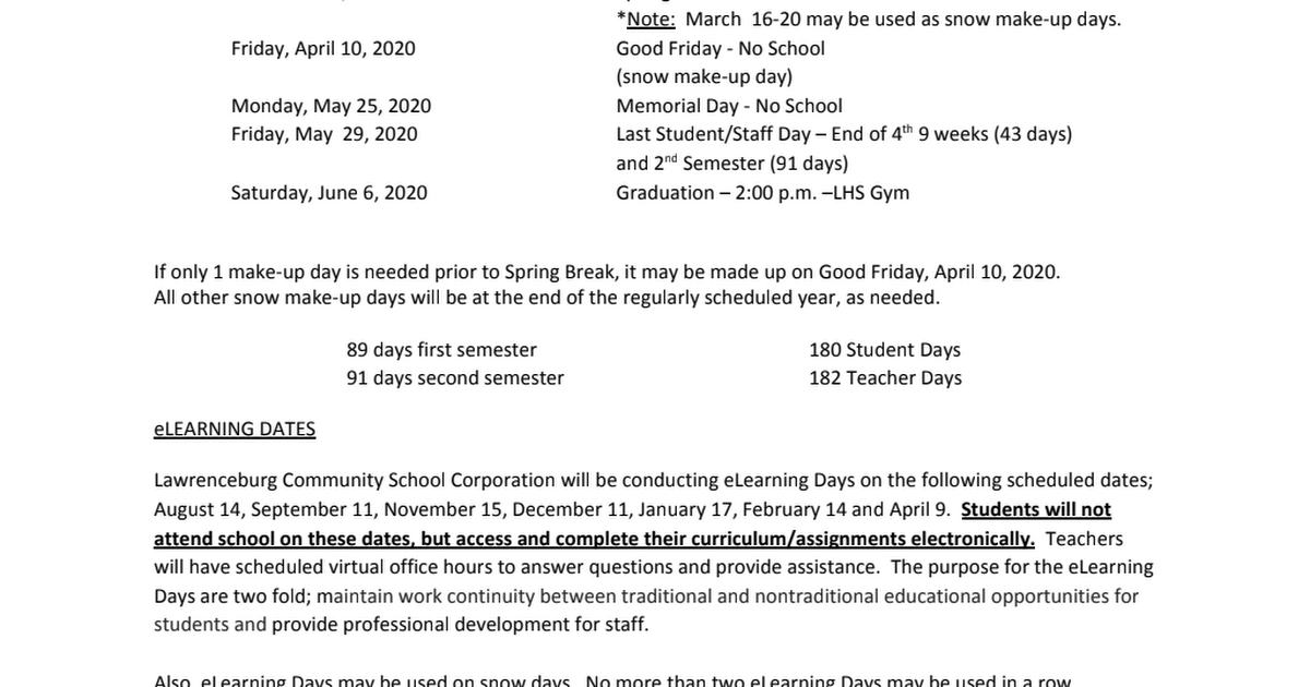 2019-2020 Revised Calendar pdf - Google Drive