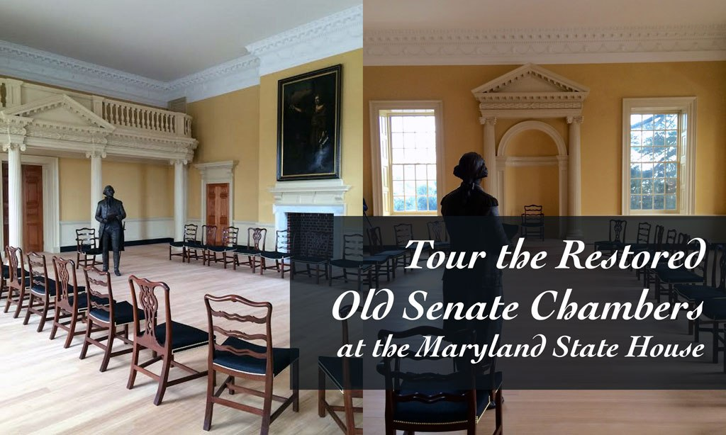 Tour the Restored Old Senate Chambers