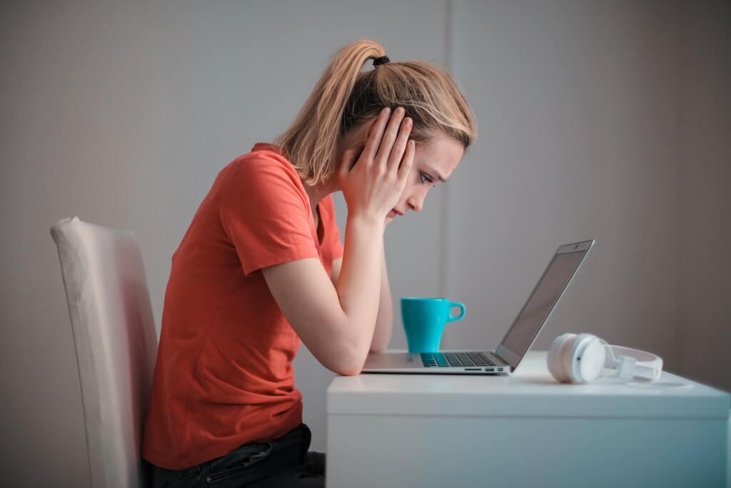 stresssed women