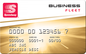speedway business fleet card