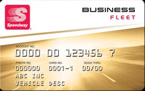 speedway business fleet card