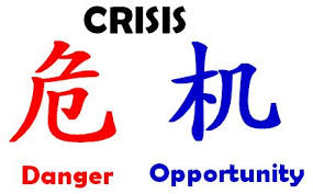 Image result for crisis mentality Chinese meaning