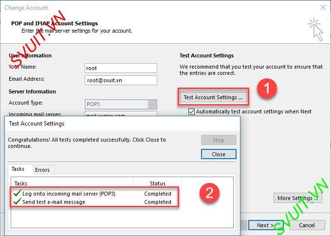 Xóa thư trên webmail và giữ lại trên Outlook (8)