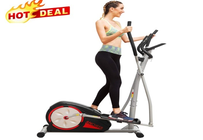 Ancheer Elliptical Exercise Machine Trainer for loss weight